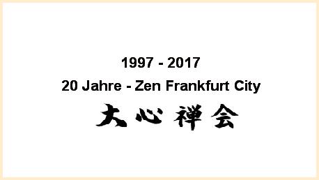 aa 20 jahre zen frankfurt city