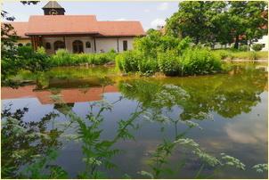 Am Fischteich verweilen im Kloster Jakobsberg-09